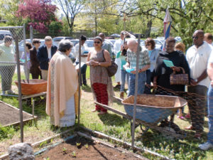Blessing of the garden